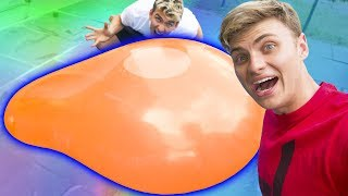 GIANT WATER BALLOON EXPLOSION!!