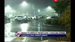 Badai Florence yang Mematikan Mulai Menerjang Carolina Utara - LIM 14/09