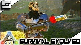 ARK: Survival Evolved - HARPOON GUN?! E14 ( Ark Ragnarok Map )