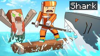 Raft but its minecraft