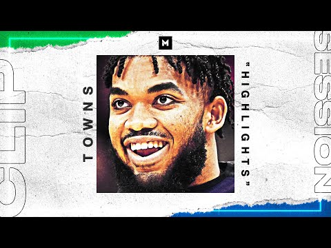 Karl Anthony Towns RIDICULOUS Highlight Reel! 19-20 Season | CLIP SESSION
