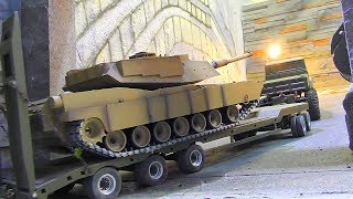 RC Leopard M1 A2! Cool RC Tank for Kids! Full Option, Steel Tracks and more!