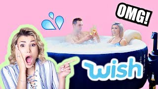 I Bought A HOT TUB From WISH!!!!!! WTF😱