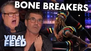 INCREDIBLE Bone Breakers Show America's Got Talent Their UNBELIEVABLE Flexibility | VIRAL FEED