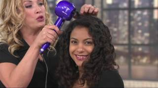 Conair Curl Secret 2.0 Automatic Hair Curler w/ Two Barrels on QVC