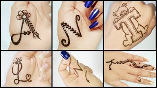 Beautiful Name Tattoos Mehndi Design Tutorial Henna