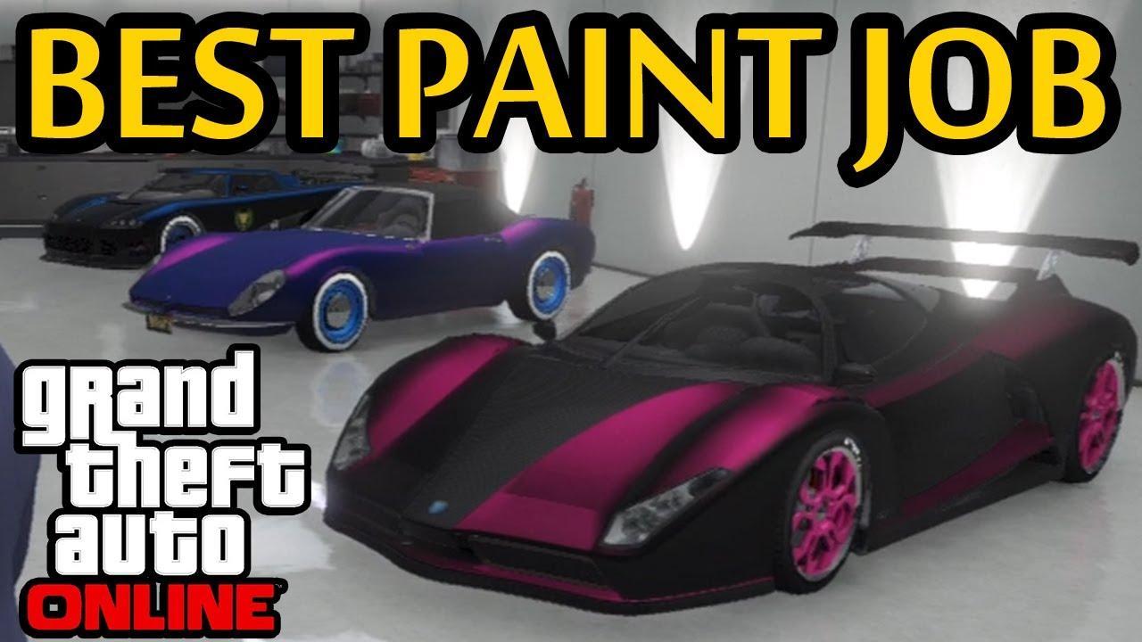 Gta 5 Online Top 5 Paint Jobs 5 Best Car Color Schemes Best Paint