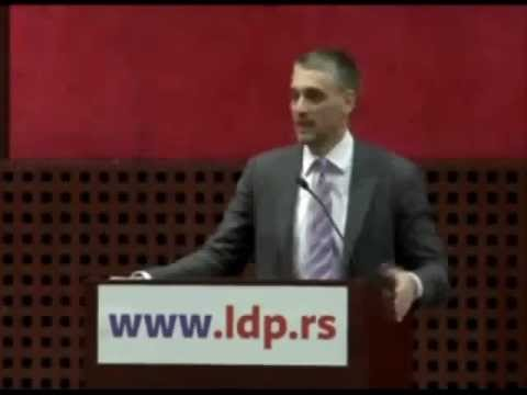 Čedomir Jovanović - Republika Srpska je nastala na genocidu