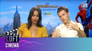 Tom Holland y Laura Harrier te invitan a ver #SpidermanHomeComing | Loft Cinema