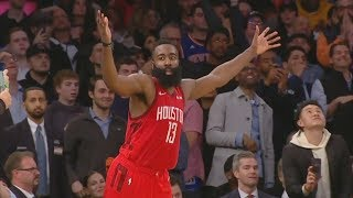 James Harden 61 Points Career High vs Knicks! 2018-19 NBA Season
