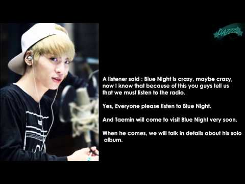 {ENG SUB} Jonghyun speaks about Pretty Boy, Taemin and Kai on Blue Night Radio