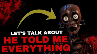 Fazbear Frights: He Told Me Everything: What You Need To Know || FNAF Story Time | Elementia Studios