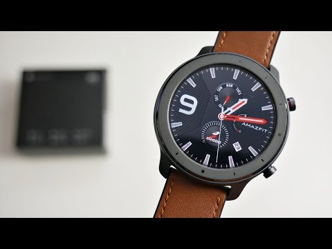 video AMAZFIT GTR 47mm Smart Watch