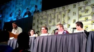 Comic-Con 2012 - Adventure Time panel part 3