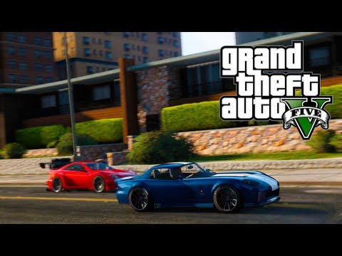 GTA 5 Online: How To Keep Luxury & Sports Cars Without A Garage Or Apartment (GTA V)