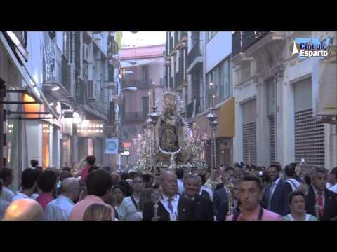 Procesión de la Virgen del Carmen del Santo Ángel 2015