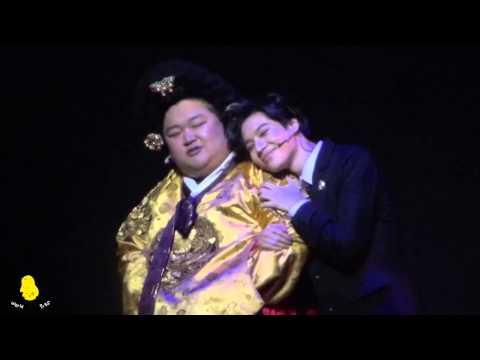 140518 TAEMIN FanCam (Goong Musical- Aegyo and kiss)