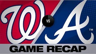 Turner's clutch 5th inning lifts Nationals | Nationals-Braves Game Highlights 7/20/19