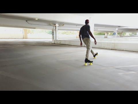 screenshot of youtube video titled SC Roller-Skaters | Palmetto Scene