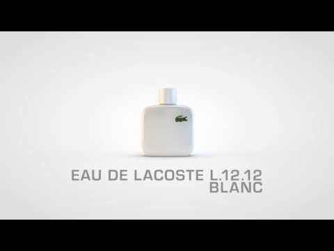 Lacoste Eau De L-12-12 Blanc Men EDT 100ml (For Men)