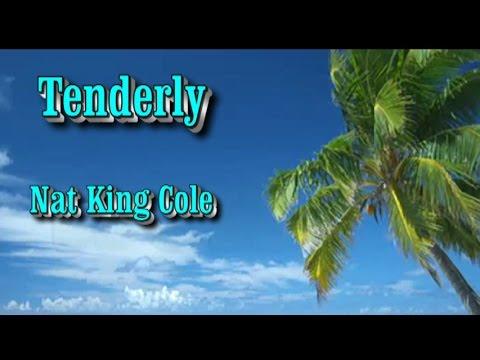 Tenderly (Tiernamente) - Nat King Cole (subtitulos en español e ingles)