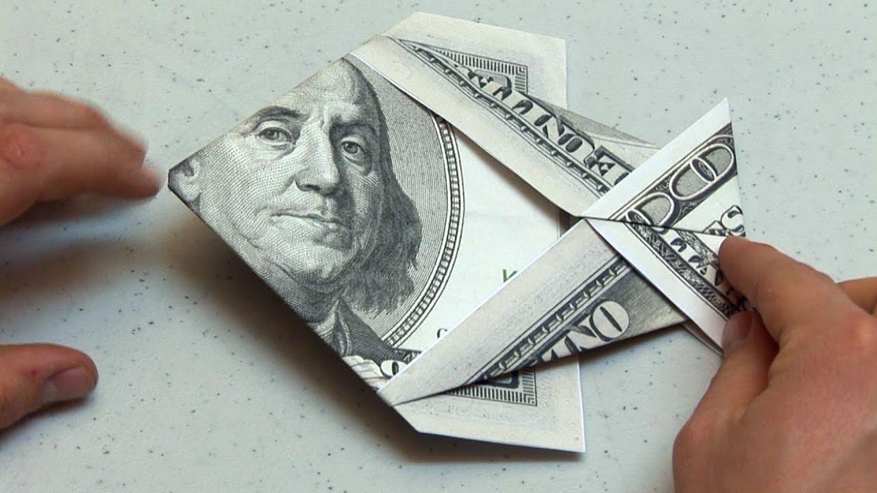 Step By Step Origami Dollar Bill