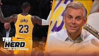 LeBron is greatest Swiss Army knife ever in NBA, Colin thinks Giannis could join Warriors | THE HERD