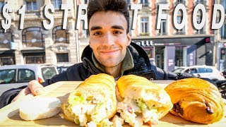 Living on $1 Street Food Around The World! (Ep. 2/ PARIS)