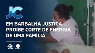 Em Barbalha Justiça proíbe corte de energia de uma família