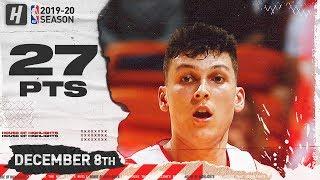 Tyler Herro CLUTCH 27 Pts Full Highlights | Bulls vs Heat | December 8, 2019