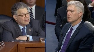 Full Sen. Franken questioning of Judge Gorsuch