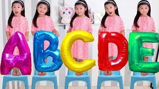 Phonics Song with TWO Words - A For Apple - ABC Alphabet Songs for children   Nursery rhymes