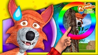 Juguemos en el Bosque | Encuentra al Lobo Beto #03 | La Granja de Zenón