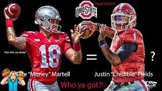 Film Study: Ohio State QB Tate Martell ain't no PUNK!!