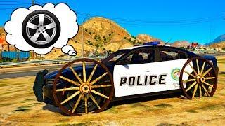 SPIDERMAN POLICE CAR WHEEL FELL OFF | Police Cars Cartoon for Children with Nursery Rhymes