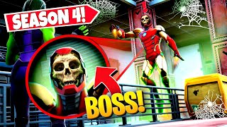 *NEW* PLAYERS FIND CREEPY IRON MAN *BOSS* APPEARING IN FORTNITE! (Battle Royale)