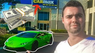 I Took My 800hp Lamborghini To Carmax For An Appraisal...