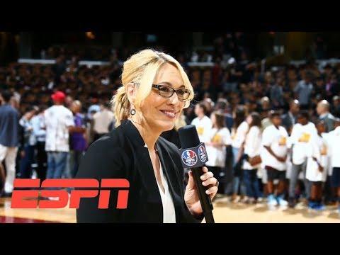 Doris Burke receives 2018 Curt Gowdy Media Award | ESPN