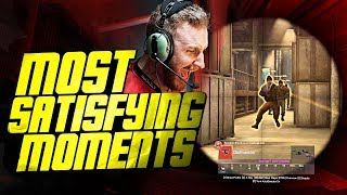CS:GO - MOST SATISFYING PRO MOMENTS! (INSANE SPRAYDOWNS & CRAZY ONETAPS)