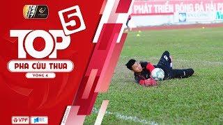Văn Toản xuất sắc, dẫn đầu top 5 pha cứu thua vòng 4 - Wakeup 247 V.League1 2019 | VPF Media