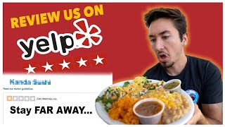 Eating At A Restaurant With No Reviews (you wont believe this...)