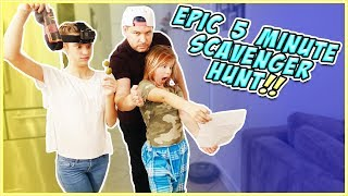 SCAVENGER HUNT IN OUR HOUSE!! WHO WILL WIN?! / SmellyBellyTV