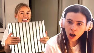 REACTING TO CRAINER & THEA OPENING BOBBY'S PRESENTS!!!