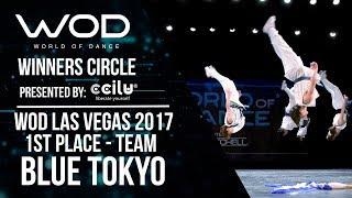 Blue Tokyo   1st Place Team   Winners Circle   World of Dance Las Vegas 2017   #WODLV17