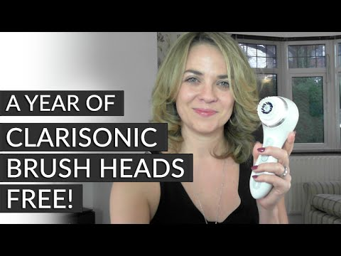 A year of Clarisonic brush heads FREE with CURRENTBODY