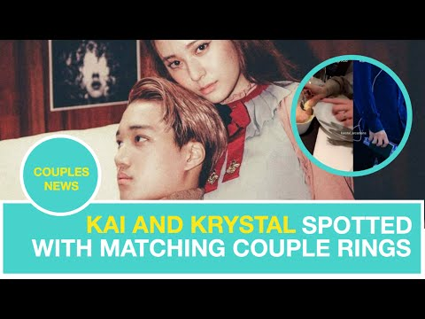 Kai and Krystal Spotted With Matching Couple Rings?