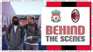Behind the Scenes | Liverpool v AC Milan | Champions League