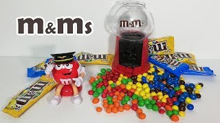 Learn Colors and Numbers with m&m's chocolate.