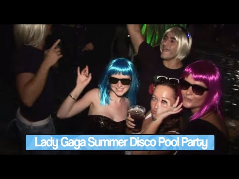 Lady Gaga Summer Disco Party at Venetian Macao Poolside