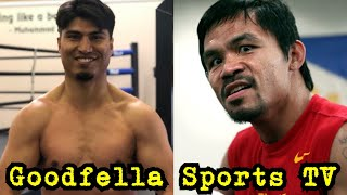 Manny Pacquiao vs Mikey Garcia Next   Pacquiao went to Errol Spence vs Garcia to Scout Mikey...